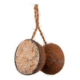 2 half gevulde kokosnoten